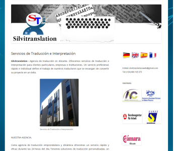 Agencia de Traducción e Interpretación en Alicante Silvitranslation